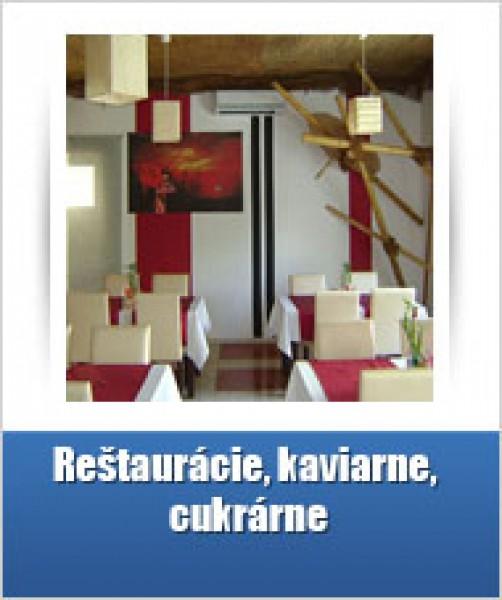 Reštaurácie a kaviarne