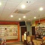 Predajňa ORANGE, Dolný Kubín                                                        klimatizácia zn. LG 4-CESTNÁ KAZETA