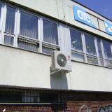 Fitness centrum, Komárno                                                        klimatizácia zn. LG 4-cestná kazeta