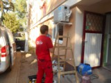 Montáž           klimatizačnej jednotky Komárno